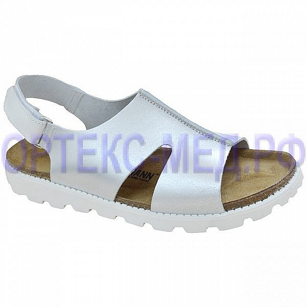 серебряные сандалии для женщин