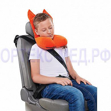 Подушка дорожная AUTOFOX с подголовником для детей старше 8 лет А304