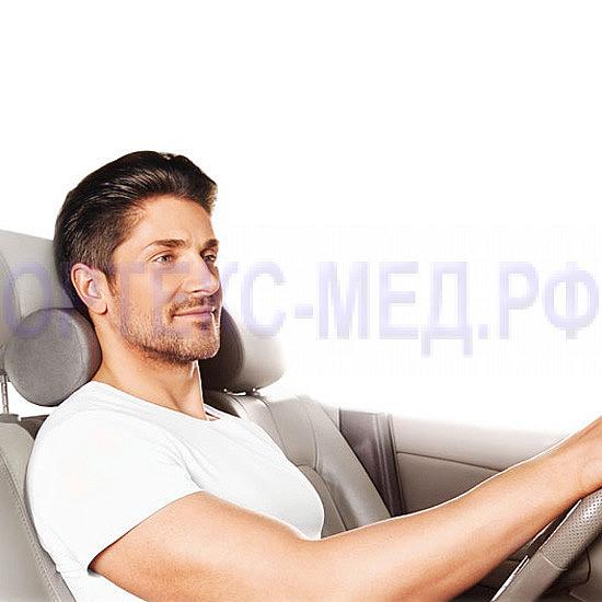 Подушка ортопедическая под голову на автомобильное сидение AUTOHEAD П16
