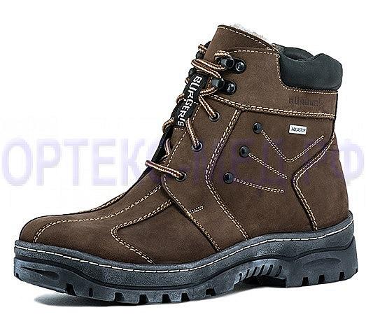 Женские ботинки зимние BURGERSCHUHE 62263 коричневые