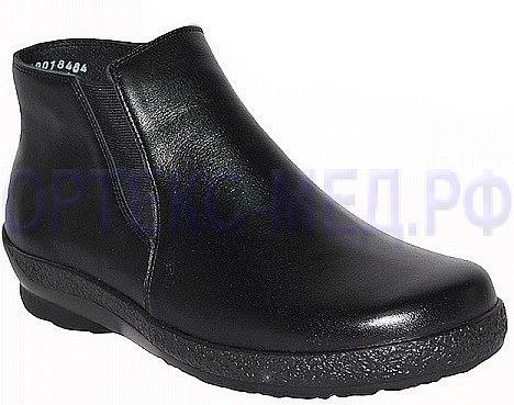 Женские ортопедические ботинки Berkemann Marisa 05207 черные