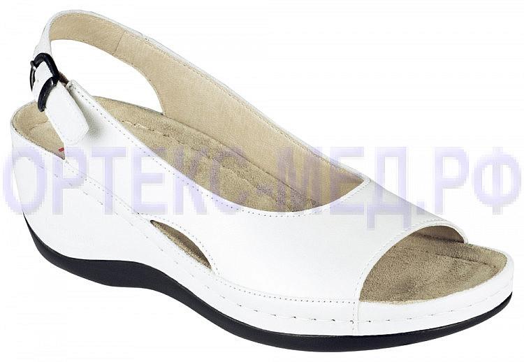 Женские ортопедические туфли Berkemann Phoebe 01763 серебряный/белый