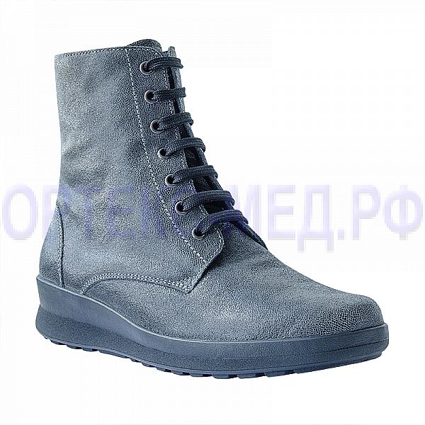 Женские ортопедические ботинки Berkemann Noa 05209 серый