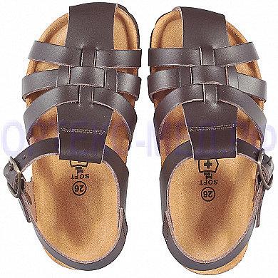 Детские ортопедические сандалии ORTMANN Denver арт. 7.23.2 коричневый