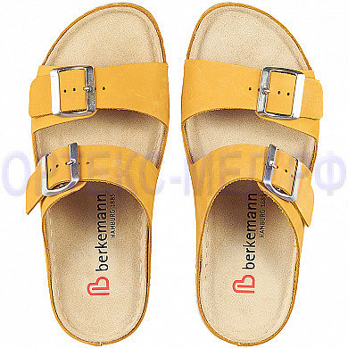 Женские ортопедические пантолеты Berkemann Sanne 02118 желтый