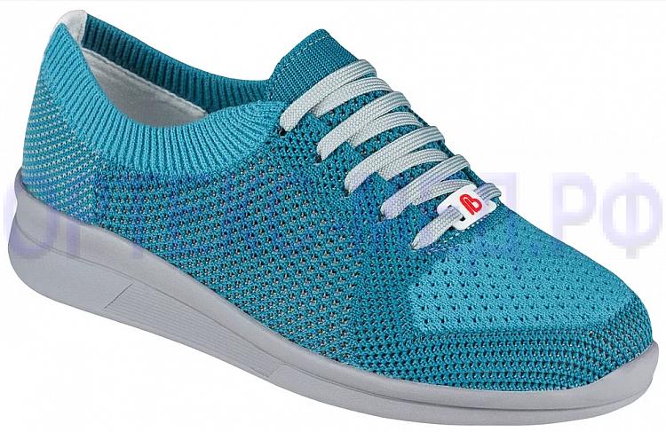 Berkemann ALLEGRA 05450 светло-голубой/серый