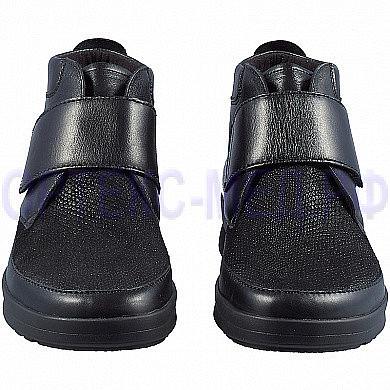 Женские ортопедические ботинки Berkemann Sandra 05301 черный питон