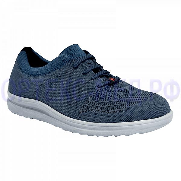 Мужские ортопедические кроссовки Berkemann ALLEGRO 05550 синий/темно-серый