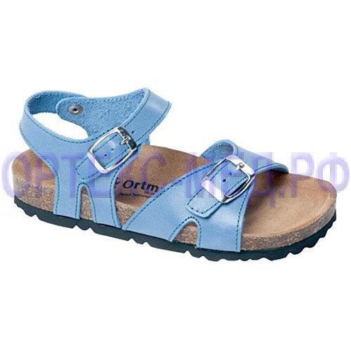 Детские ортопедические сандалии ORTMANN Leon 7.11.2 голубые
