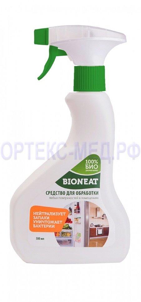 Bioneat - инновационное средство для дезинфекции и обработки поверхностей