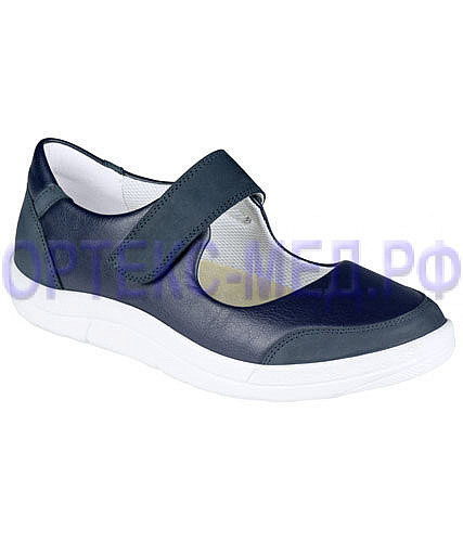 Закрытые сандалии женские ортопедические Berkemann Leandra 03103 синий