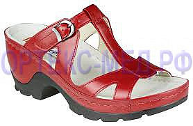 Ортопедические женские сандалии Berkemann Zeus 01430 красный