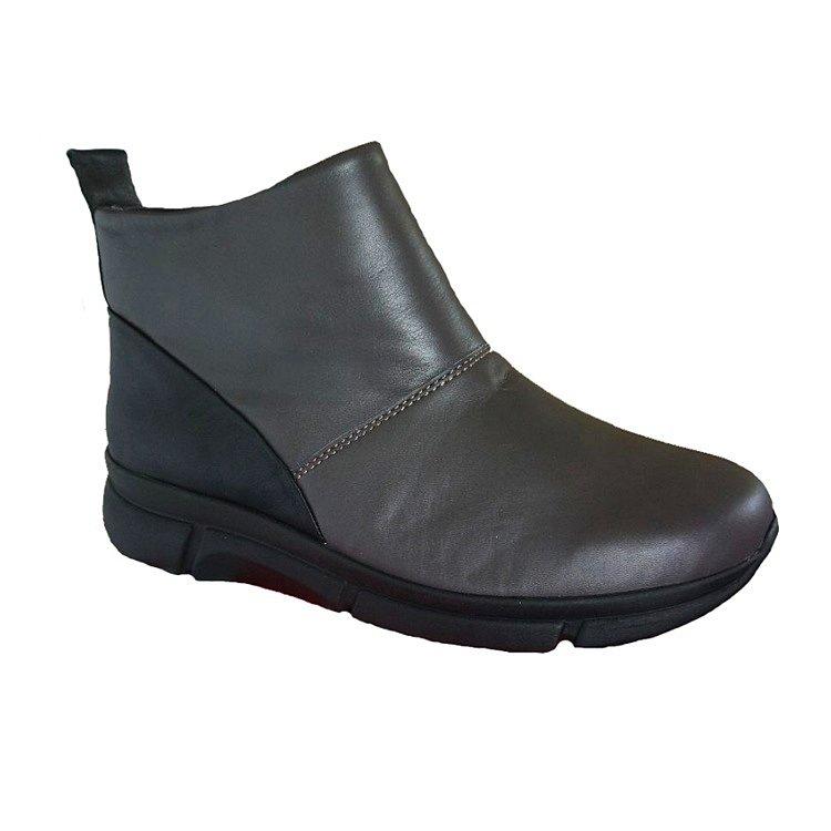 Обувь ортопедическая готовая Katrina арт.03460 серый/черный