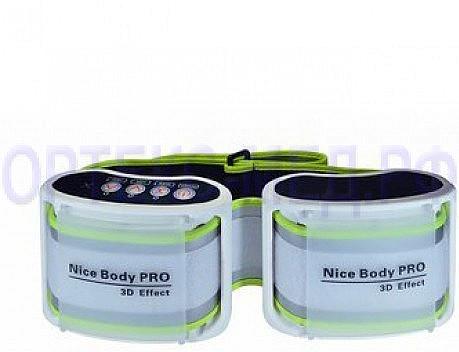 Массажный пояс NICE BODY Pro 3D Effect