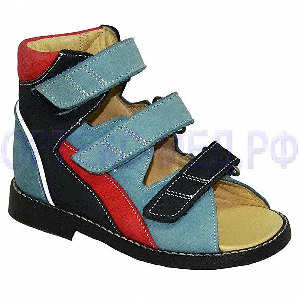 Детские ортопедические сандалии с высоким берцем ORTMANN Kids Eger арт.7.29.2