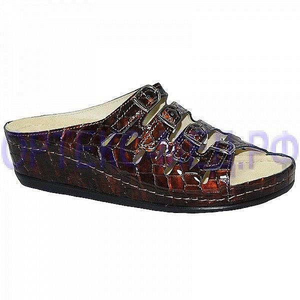 Женские ортопедические сандалии Berkemann Hassel 00737 коричневый