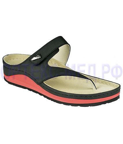 Женские ортопедические сандалии Berkemann Donate 03517 черные