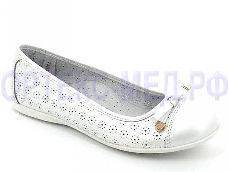 Детские туфли ТОТТО 30010-КП (9) белые