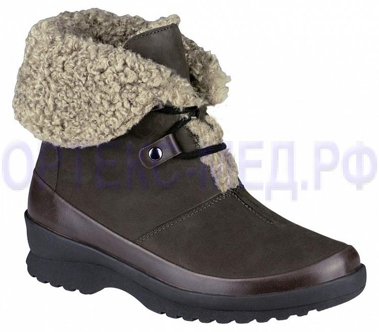 Женские зимние ортопедические ботинки Berkemann Menja