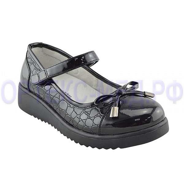 Детские ортопедические туфли Orthoboom 47397-10 черный лак