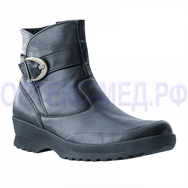 Женские ортопедические ботинки Berkemann Paula 03555 черная ночь