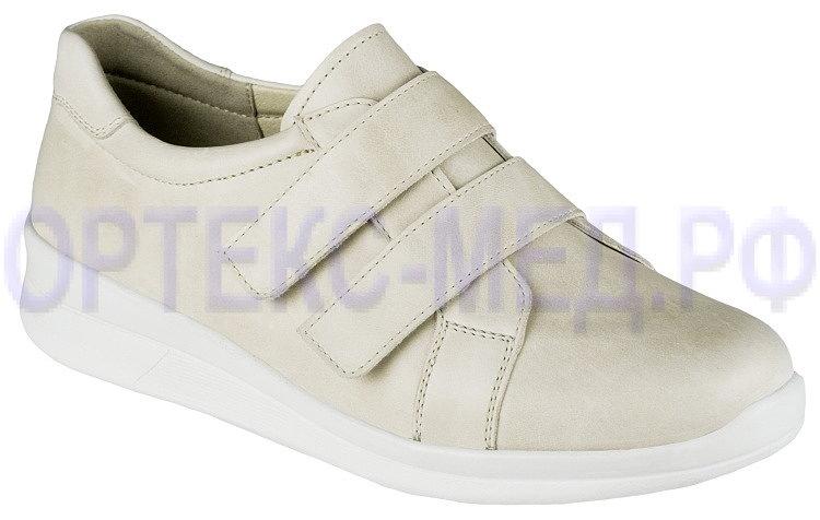 Обувь ортопедическая малосложная Amber арт. 01910 потертый беж