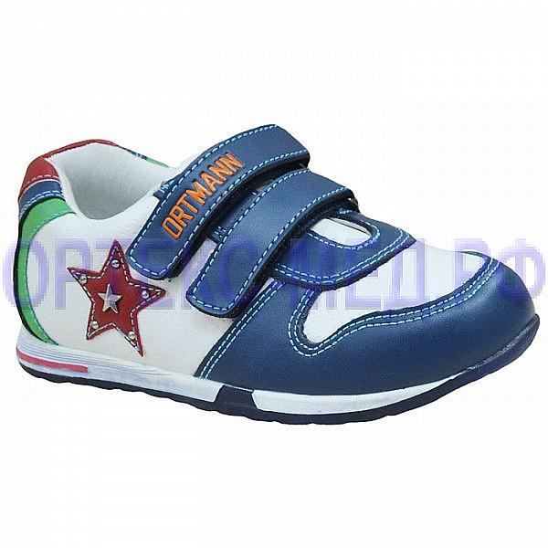 Детские ортопедические кроссовки ORTMANN Kids Bruno 7.85.2 синий/белый