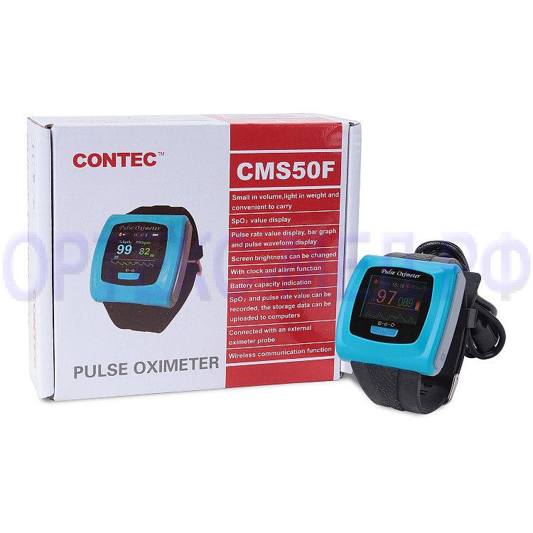 Пульсоксиметр наручный CMS 50fw в виде часов
