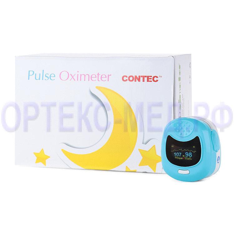 Пульсоксиметр детский CMS 50QB имеет диапазон измерения SpO2 - 0%~100%
