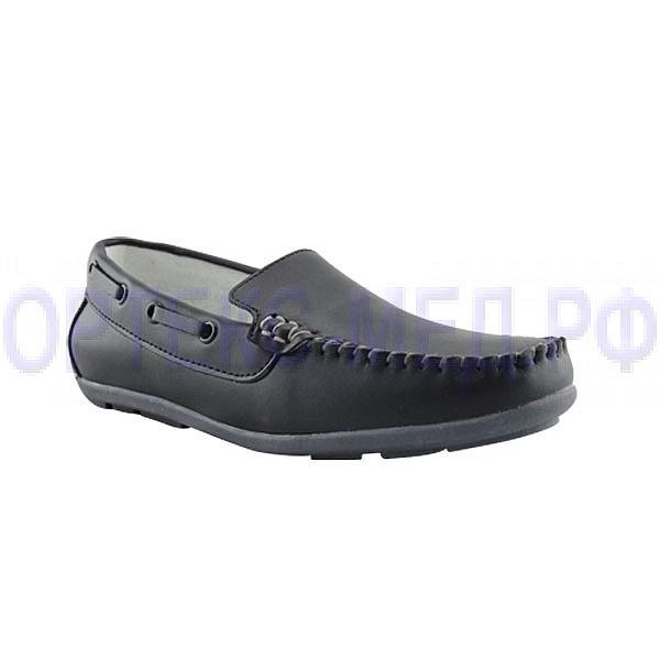 Детские ортопедические туфли Orthoboom 47597-10 антрацит