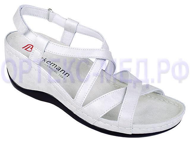 Женские ортопедические сандалии Berkemann Coletta 01751 белый